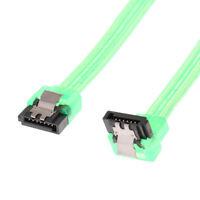 SATA III SATA 3.0 Data Cable Straight to Right Angle Hard Drive Cable 25.5cm