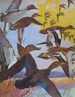 1917 Vintage Lynn Bogue Hunt Pintail, Black Duck, and Baldpate