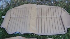 Jaguar XJ6 XJ12 XJ40 Rear seat cushion Cover Oatmeal BEC4781AFW NEW RRP £636