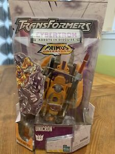 Transformers Unicron Cybertron Primus Unleashed Action Figure Hasbro NEW Sealed