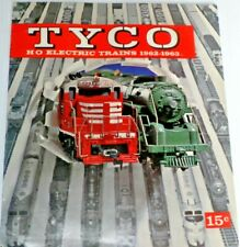 TYCO Electric Trains Catalog 1962 to 1963