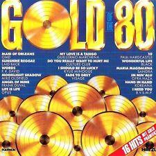 GOLD of the 80 Culture Club, Sandra, OMD, laid back, Visage, Paul Hard [CD ALBUM]