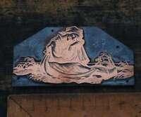BAUERSFRAU Galvano Druckplatte Klischee Eichenberg printing plate copper print