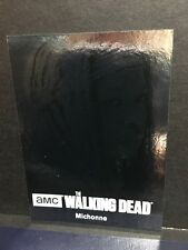 The Walking Dead Season 4 Part 1 Character Bios C04 Michonne Silver Foil 31/99