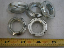 Elastic Stop Nuts M20 Round Notched Bn1235 Steel Zinc Plated Lot of 5 #4299