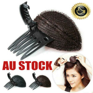 DIY Invisible Hair Volume Increase Fluffy Puff Sponge Pad Clip Comb WQ
