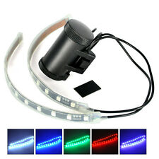 12 LED Waterproof Bicycle Bike Fork Strip Light Bar Safety Warning Lamp 8 Modes