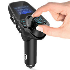 FM Transmitter T11 New Version Wireless In-Car Bluetooth Receiver Adapter Stereo