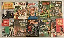 VINTAGE GOLDEN KEY COMIC BOOK LOT OF 10 - MUNSTERS DISNEY TARZAN TWILIGHT ZONE