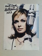 Autograph - Katherine Jenkins OBE - Classical Singer, Dr Who - Live ink
