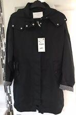 ZARA : 2018 BNWTS Flowing Raincoat Green Uk Size XS Extra Small Coat Jacket