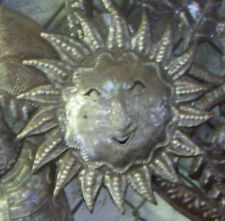 Metal Sun Haitian Wall Art Outdoor Wall Hangings Room Design Ideas Haiti 15""