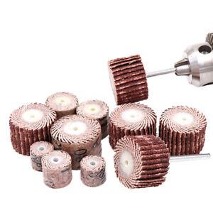 50 PCS 80~600 Grit Flap Wheel Disc Sanding Drill Abrasive Sandpaper Polishing