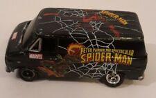 Johnny Lightning Marvel Spider-Man 1977 Chevy G-20 Van G, Peter Parker, Black