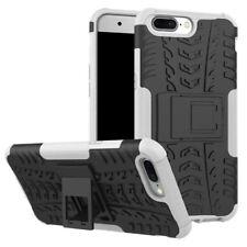 New Hybrid Case 2teilig Outdoor Weiß für OnePlus 5 Tasche Hülle Cover Schutz Neu