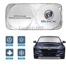 Car Front Windshield Sun Shade Shield Cover Visor UV Block Foldable for Buick