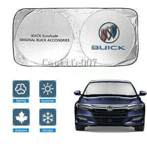 Car Front Windshield Sun Shade Shield Cover Visor UV Block Foldable for Buick