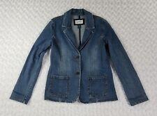 Limited Too Girls Denim Jean Jacket Size Xxl Stretch Pockets