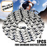 Silver For Shimano IG51 Steel Mountain Bicycle Chain 8/24 Speed 116 Links USA