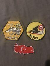 Turkish Air Force 162. Filo ENJJPT Patch EURO-NATO JOINT JET PILOT TRAINING Turk