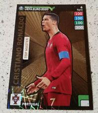 RONALDO TOP MASTER RARE N.6 PANINI ADRENALYN XL ROAD TO EURO 2020 UEFA PORTUGAL