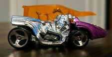 1999 Hot Wheels Violet Pop Cycle~ Schwinn Bicycle~ 1/64 Scale~Made in Malaysia