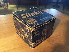 Slinky From 1940's Or Early Era - In original Box