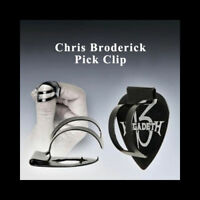 Chris Broderick Pick Clip - Titanium thumb clip holds any guitar pick!
