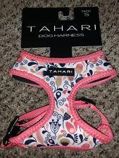 New listing Tahari Pink Floral Print Chest Plate Harness Puppy Dog Size Medium Nwt