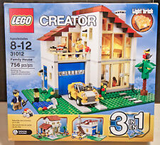 LEGO Creator Family House (31012) New Sealed Box