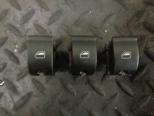 2008 AUDI A4 AVANT X3 WINDOW SWITCHES DRIVER REAR & PASSENGER FRONT & REAR