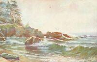 Postcard Shore Line California