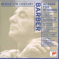 LEONARD BERNSTEIN/NYPO - BARBER-ADAGIO FOR STRINGS  CD 7 TRACKS CLASSIC NEU