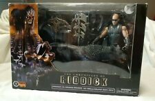 The Chronicles of Riddick Figure in Necro Armor with Hellhound Nib by Sota Toys