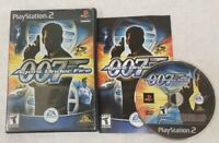(Sony PlayStation 2, 2002) James Bond 007 in Agent Under Fire - Complete