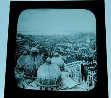 Venice  View from The Campinalle Antique Glass Slide magic lantern