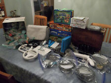 Nintendo Wii Blue Skylanders Lot 12 Games 71 Figures 14 Traptanium Crystals