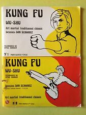 JUDOGI KUNG FU WU-SHU N• 1 et 2 ARTS MARTIAUX Vintage Années 80 technique en BD