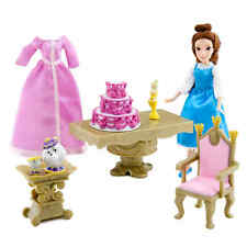 Disney Mini Belle Princess Doll Play Set from Beauty and the Beast Chip & Potts