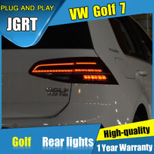 For VW Golf 7 7.5 Red/Smoke LED Rear Lights Assembly LED Tail Lamps 2014-2018