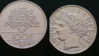 FRANCE / 1988 -  100 FRANCS / / SILVER COIN