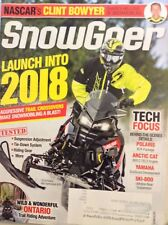 Snow Goer Magazine Trail Crossovers October 2017 101217nonrh
