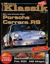 Moteur Classique 1/98 1998 FIAT 500 Grenade 2.8i MG Jot Coronet R/T Carrera RS