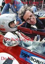 Mario Andretti & Mauro Forghieri Ferrari F1 Portrait 1971 Photograph