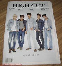 HIGH CUT VOL.156 SHINEE f(x) FX SULLY KOREA MAGAZINE TABLOID NEW
