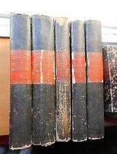 Carl von Rotteck: Allgemeine Weltgeschichte für alle Stände 1832-1845 5 Bände