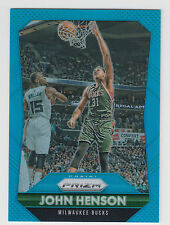 JOHN HENSON 2015-16 Panini Prizm Light Blue Prizm #/199 #47 Bucks