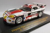 Ixo 1/43 Scale - LMM040 CHRYSLER VIPER 'RACELINE' #51 LE MANS 2002