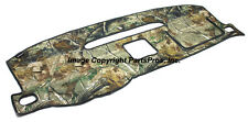 NEW Realtree AP Camo Camouflage Dash Mat Cover / LISTED 2007-13 CHEVY GMC TRUCK