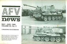 AFV NEWS V23 N2 WW2 JAPANESE 2ND TANK DIV PHILIPPINES_MKVIII LIBERTY_BRITISH 1ST